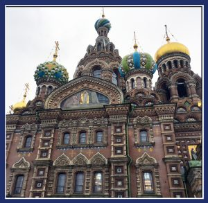 "The Church of the Savior on Spilled Blood in Saint Petersburg, Russia (Image: ""SoS"")"
