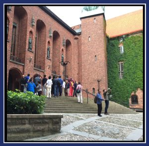 """Where the Nobel Prizes are awarded in Stockholm, Sweden. (Image: """"SoS"""")"""